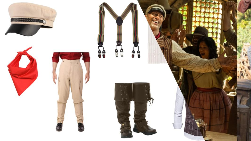 Frank Wolff from Jungle Cruise Cosplay Tutorial