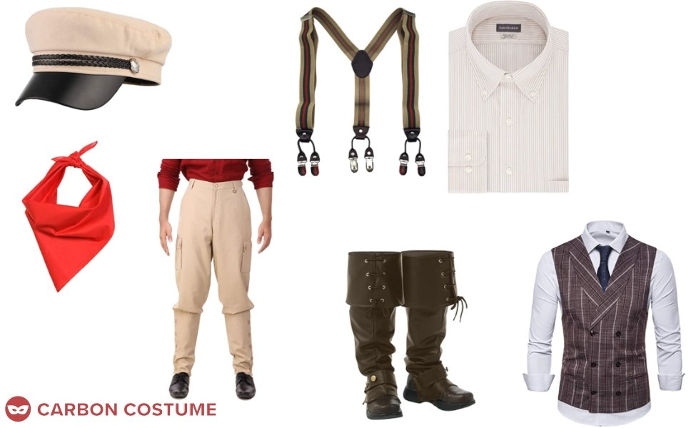 Frank Wolff from Jungle Cruise Costume