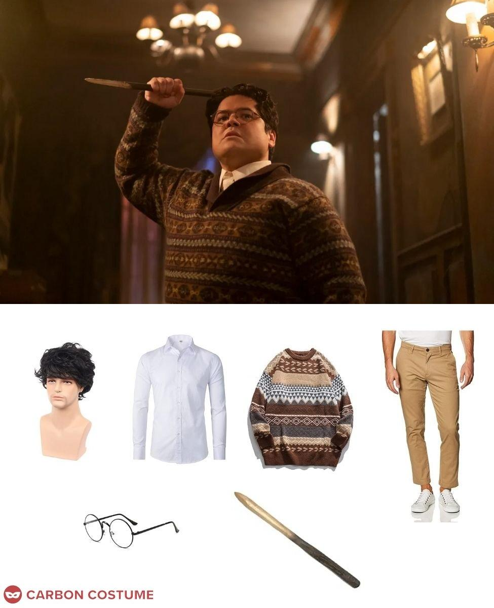 Guillermo de la Cruz from What We Do In The Shadows Cosplay Guide