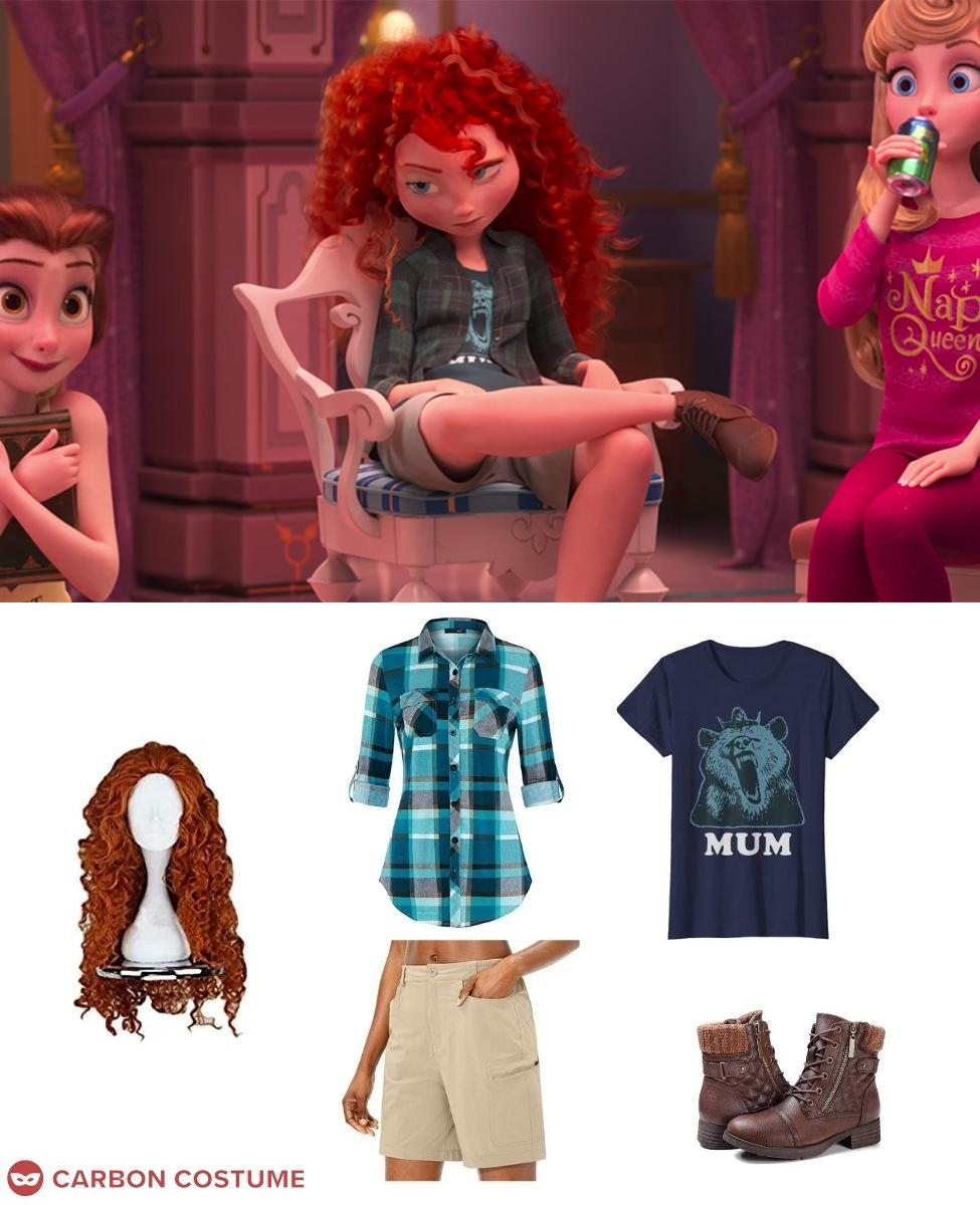 Merida from Wreck-It Ralph 2 Cosplay Guide