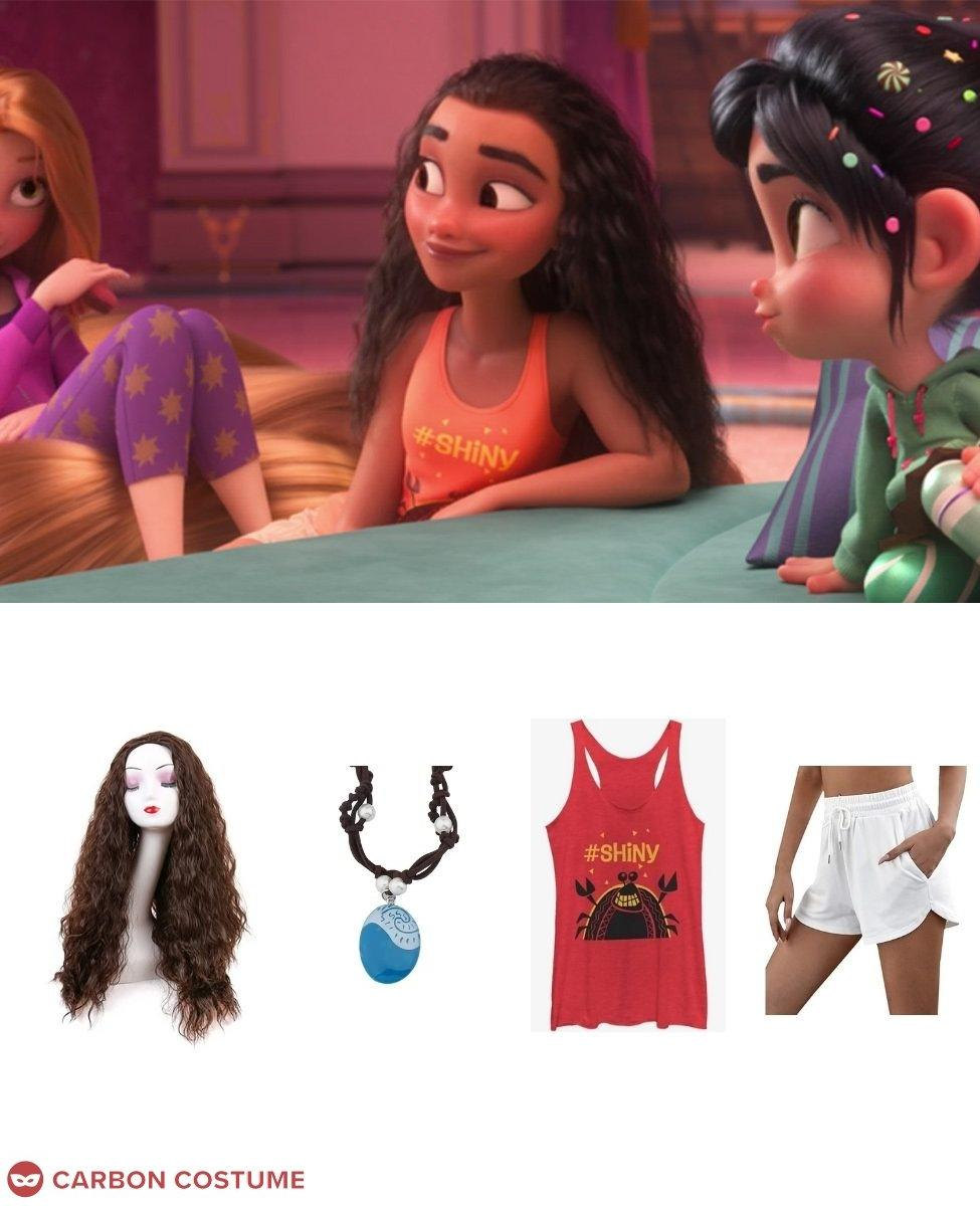 Moana from Wreck-It Ralph 2 Cosplay Guide