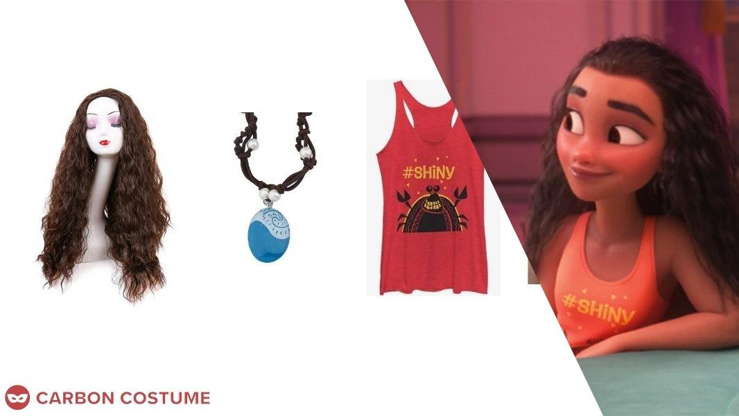 Moana from Wreck-It Ralph 2 Cosplay Tutorial
