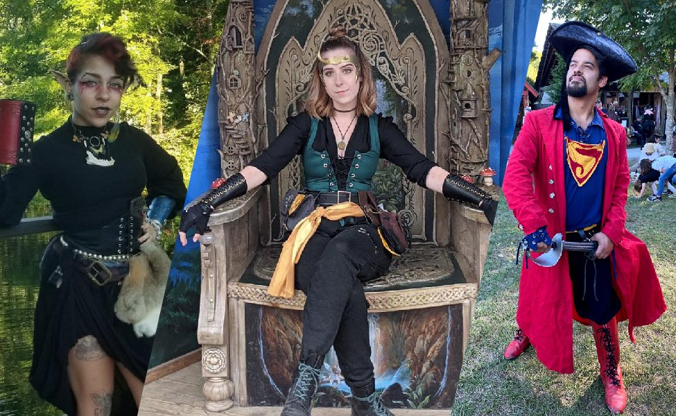 Sights and Cosplay from New York Renaissance Faire 2021