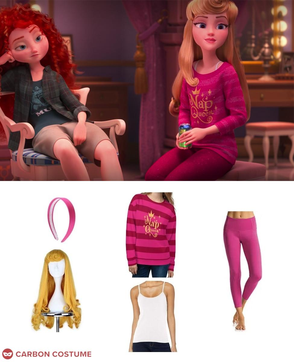 Princess Aurora from Wreck-It Ralph 2 Cosplay Guide