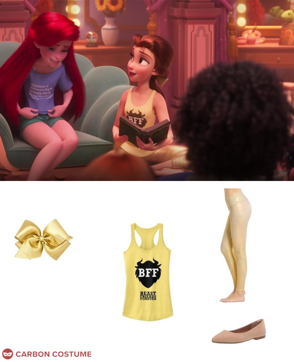 Princess Belle from Wreck-It Ralph 2 Cosplay Guide