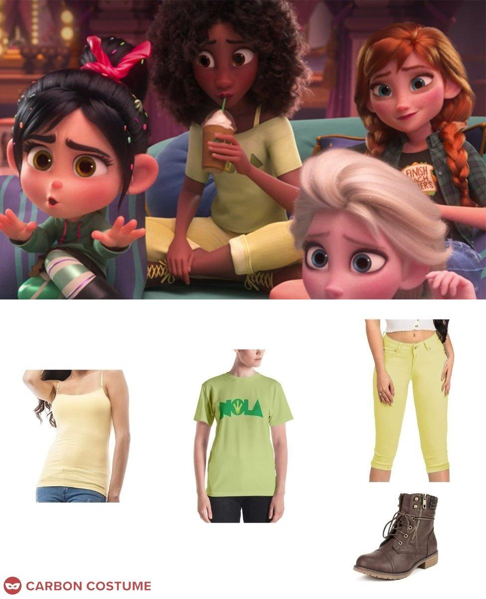 Princess Tiana from Wreck-It Ralph 2 Cosplay Guide