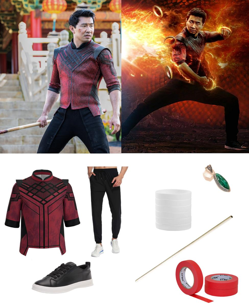 Shang-Chi Xu from Shang-Chi and the Legend of the Ten Rings Cosplay Guide