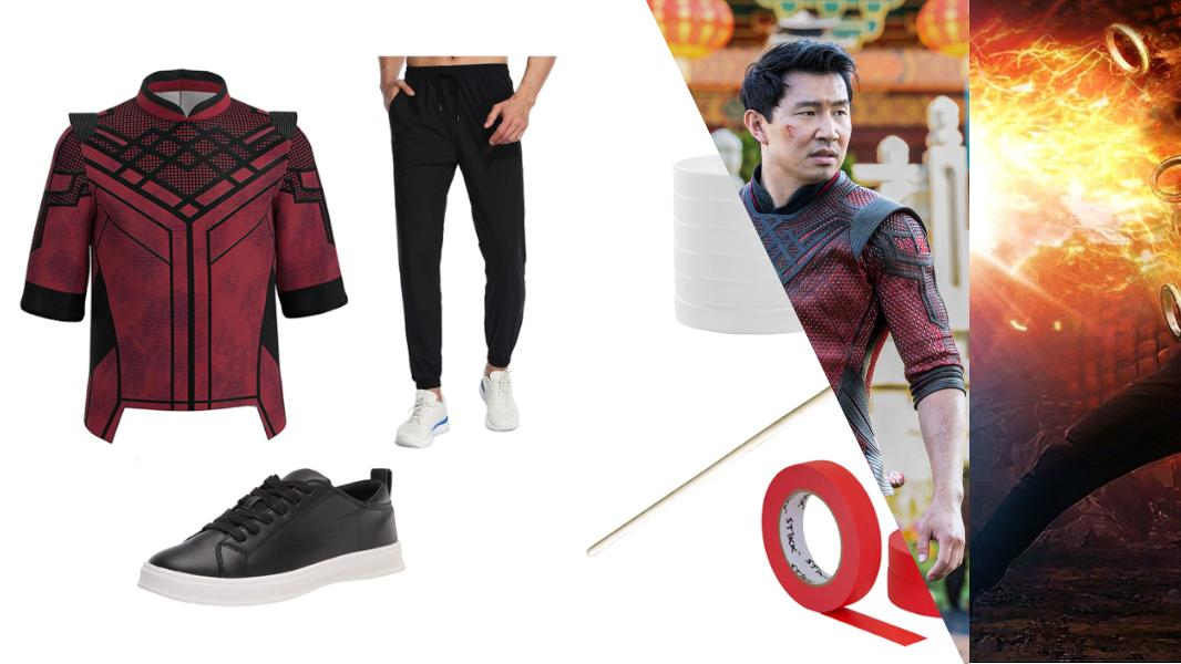 Shang-Chi Xu from Shang-Chi and the Legend of the Ten Rings Cosplay Tutorial
