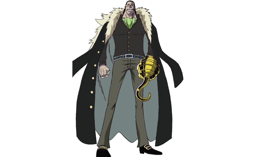 Sir Crocodile from One Piece