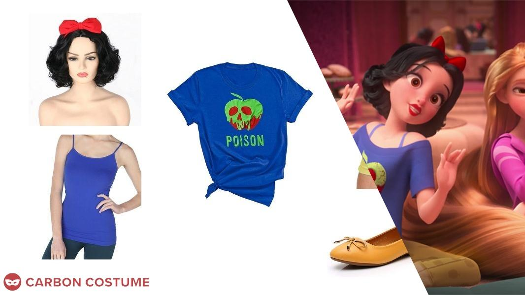 Snow White from Wreck-It Ralph 2 Cosplay Tutorial