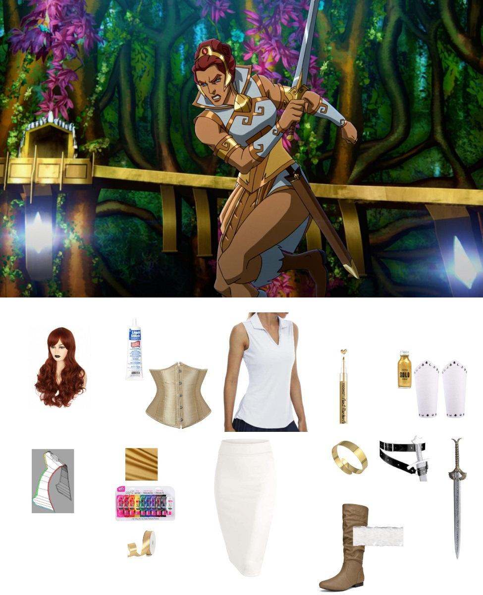 Teela from Masters of the Universe: Revelation Cosplay Guide