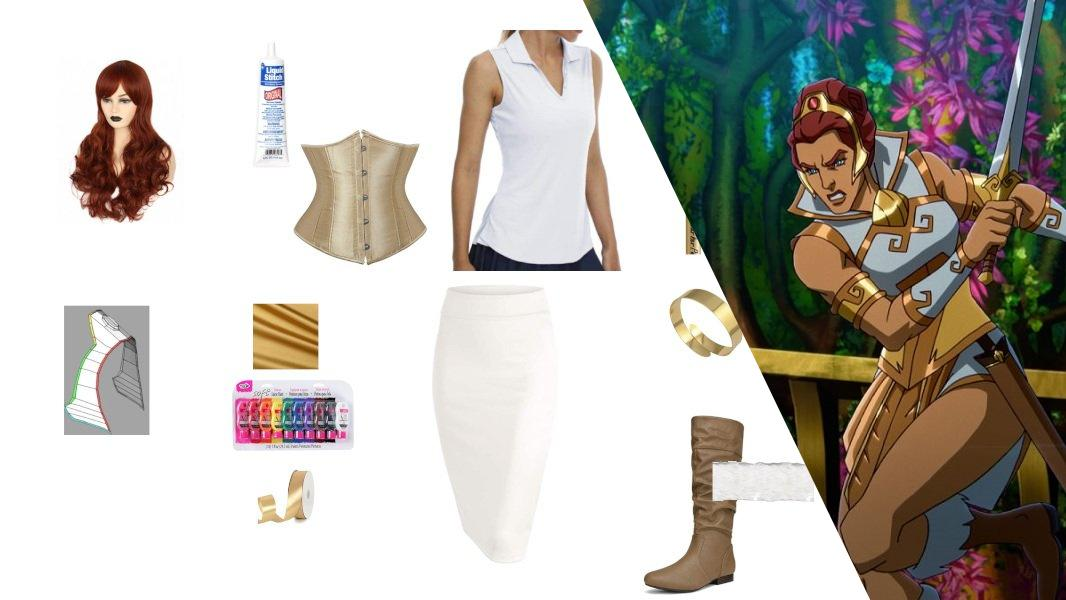 Teela from Masters of the Universe: Revelation Cosplay Tutorial