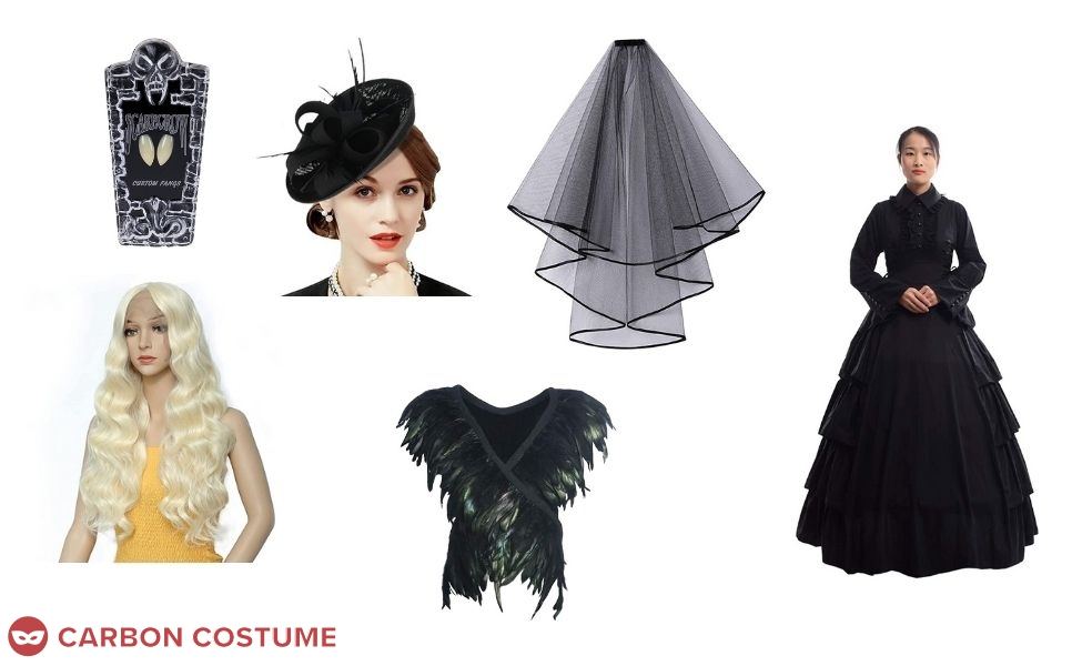 Floating Woman from What We Do In The Shadows Costume