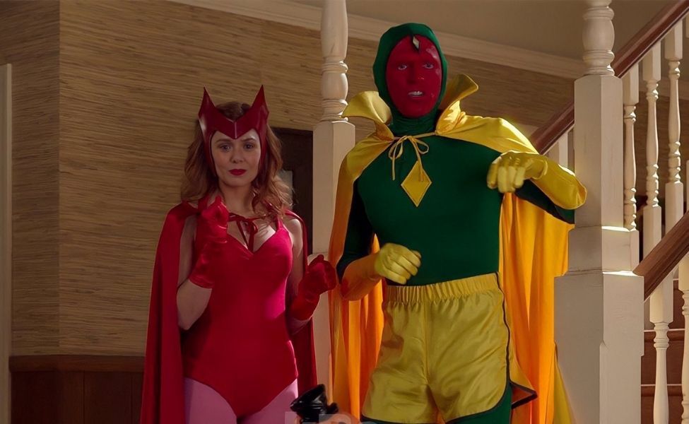 Wanda and Vision Couples Costumes