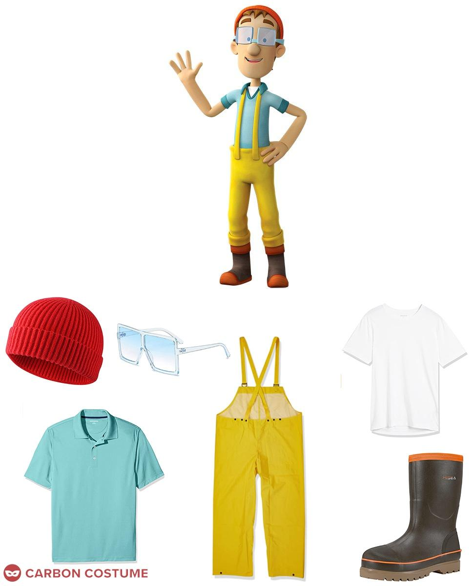 Cap'n Turbot from PAW Patrol Cosplay Guide
