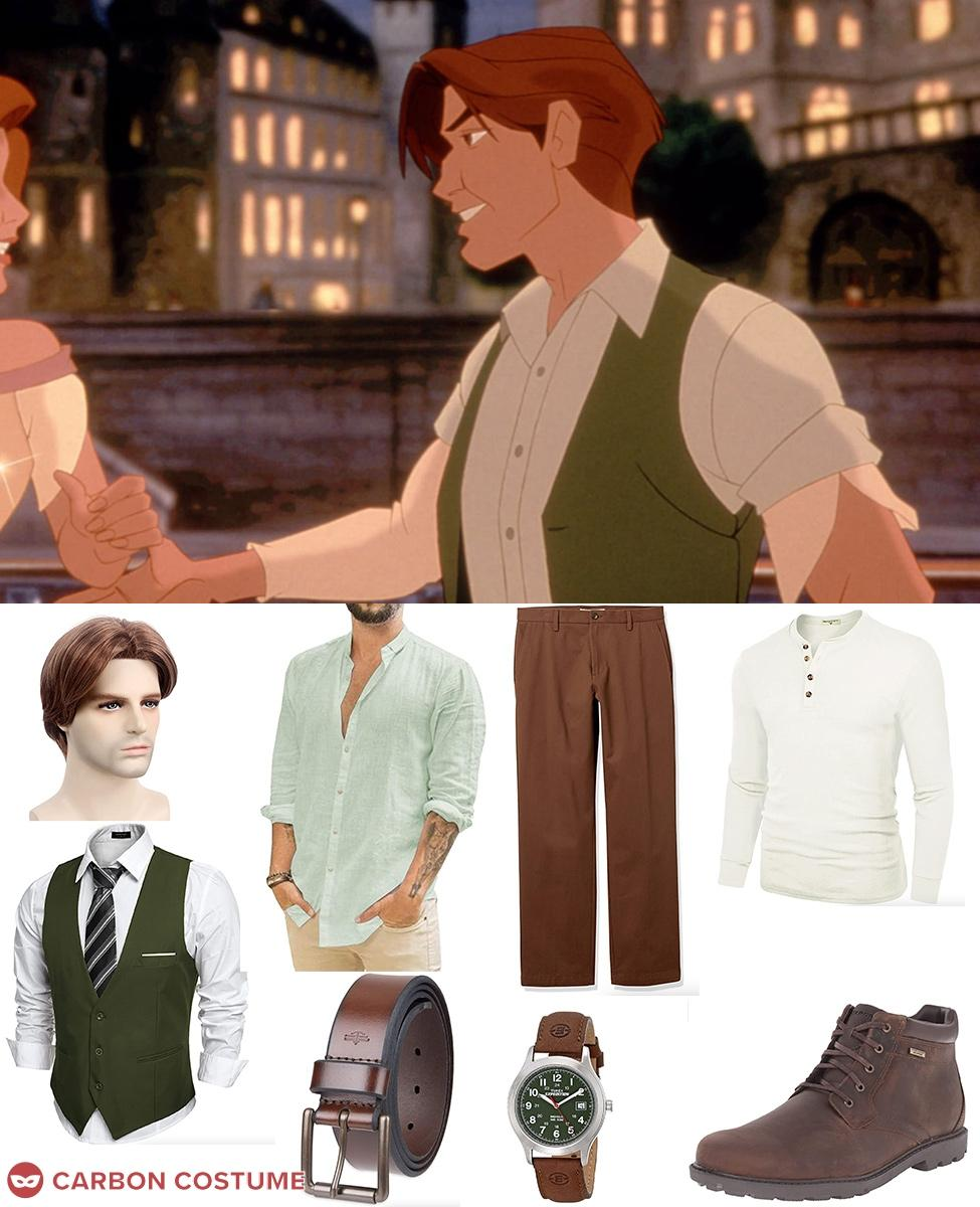Dimitri from Anastasia Cosplay Guide