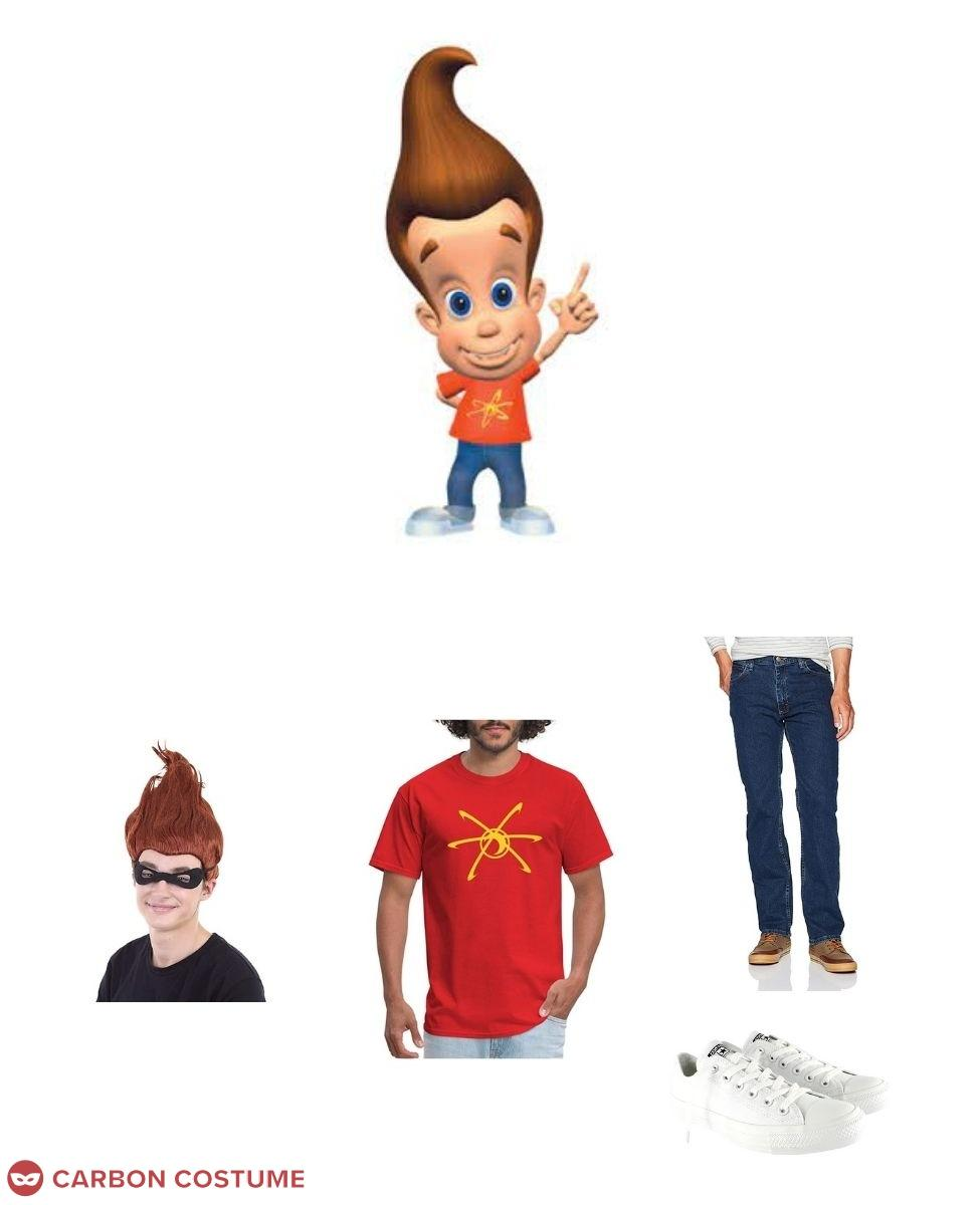 Jimmy Neutron Cosplay Guide