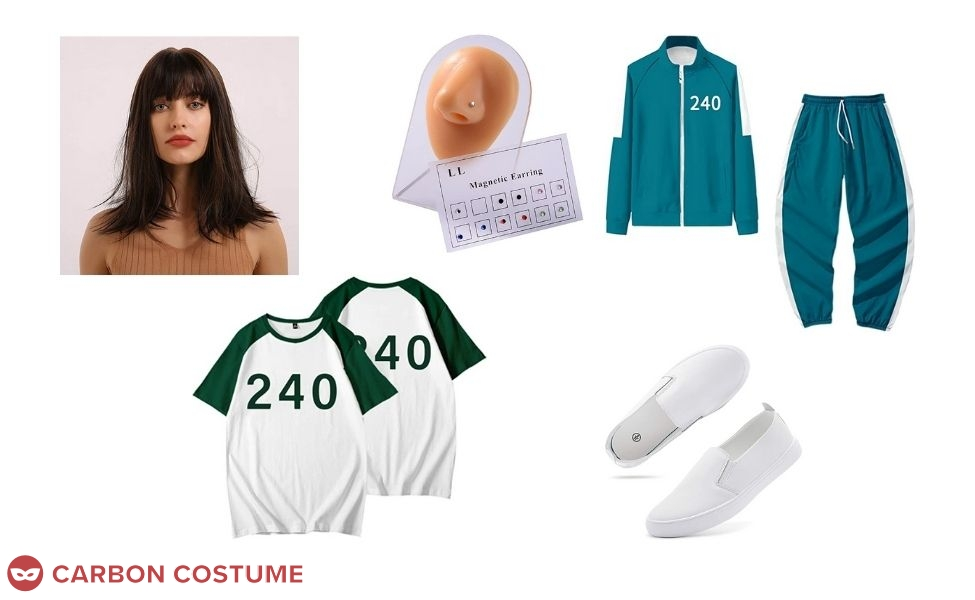 Ji-Yeong from Squid Game Costume