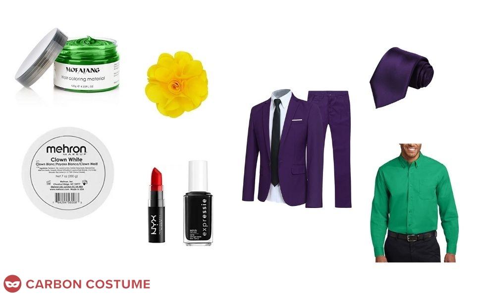 The Joker from Harley Quinn Costume