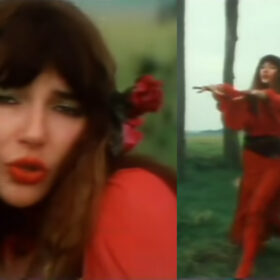 Kate Bush from Wuthering Heights