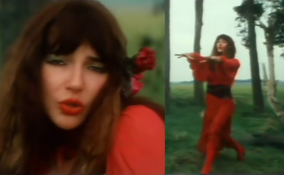 """Kate Bush in """"Wuthering Heights"""""""