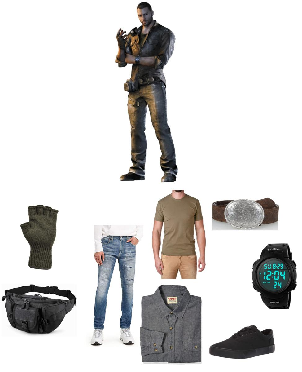 Kyle Crane from Dying Light Cosplay Guide