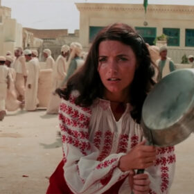 Marion Ravenwood from Raiders of the Lost Ark