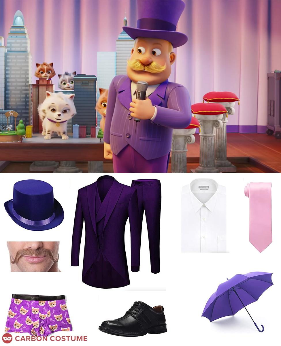 Mayor Humdinger from PAW Patrol Cosplay Guide