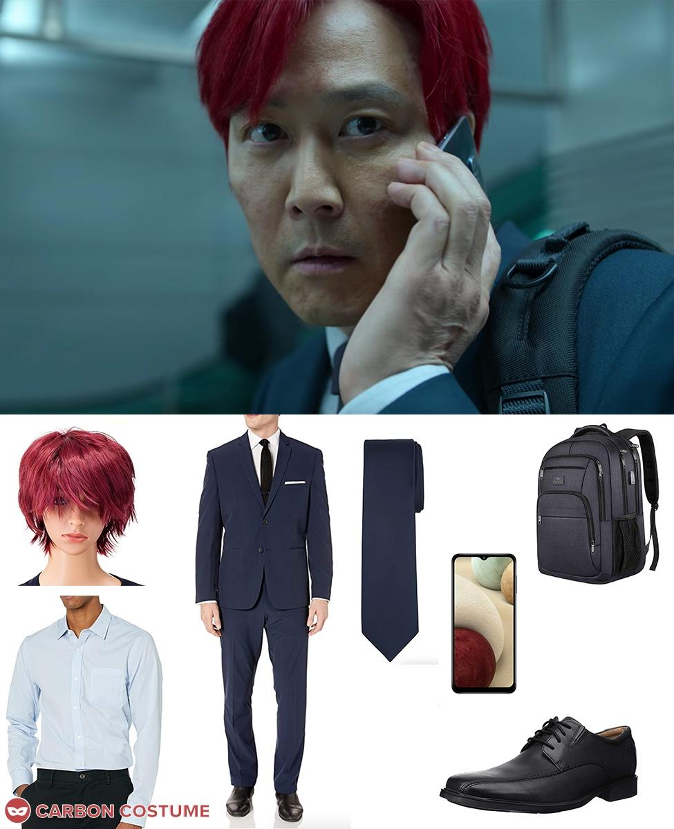 Red-Hair Seong Gi-Hun from Squid Game Cosplay Guide