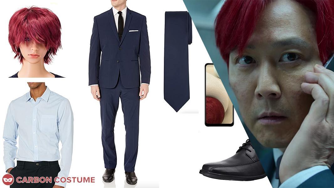 Red-Hair Seong Gi-Hun from Squid Game Cosplay Tutorial