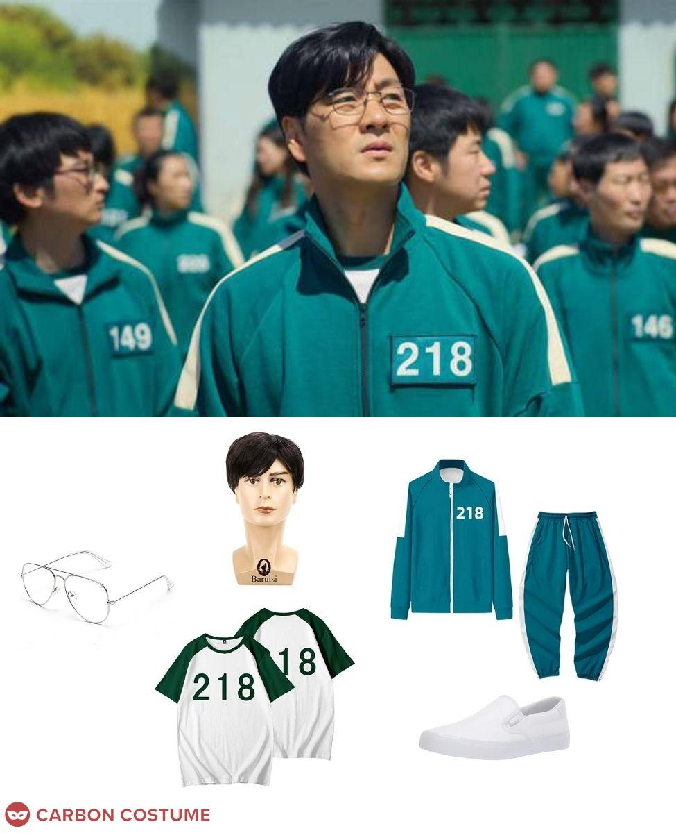 Cho Sang-woo from Squid Game Cosplay Guide