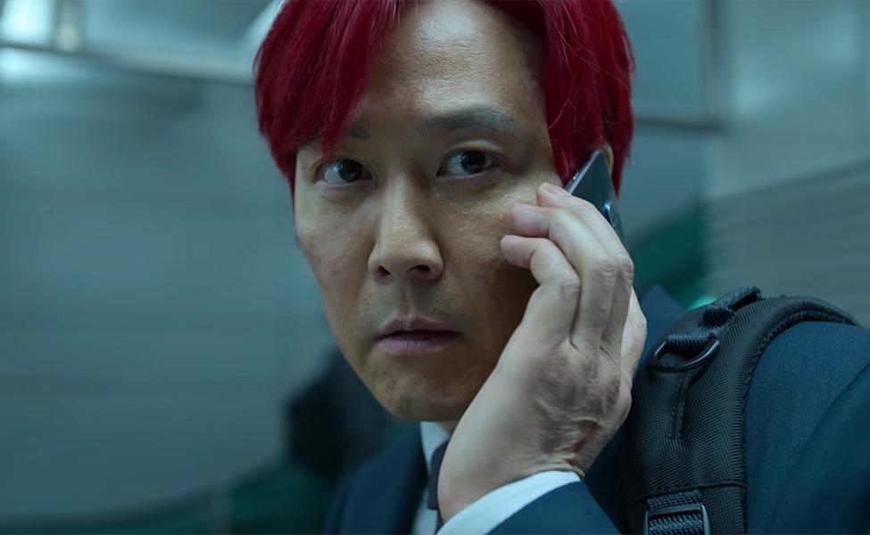 Red-Hair Seong Gi-Hun from Squid Game