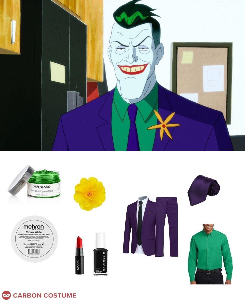 The Joker from Harley Quinn Cosplay Guide